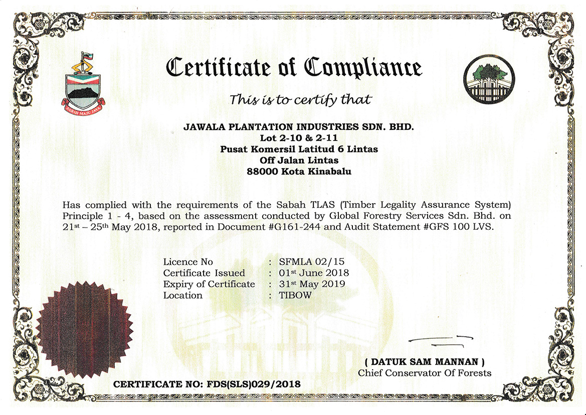Certification Jawala Inc